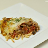 Spaghetti Pie Recipe & #FlavorServed Twitter Party