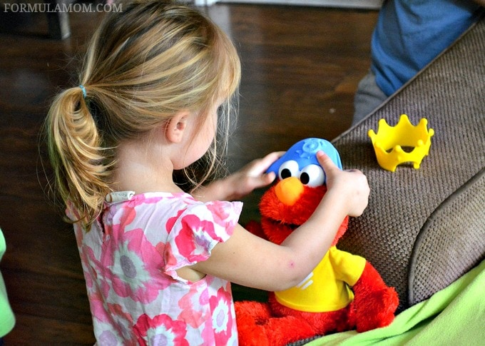 Toddler Play Date Ideas with Let's Imagine Elmo