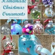 12 Homemade Christmas Ornament Ideas