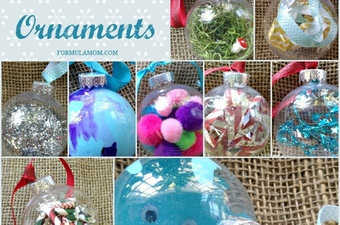 12 Homemade Christmas Ornament Ideas