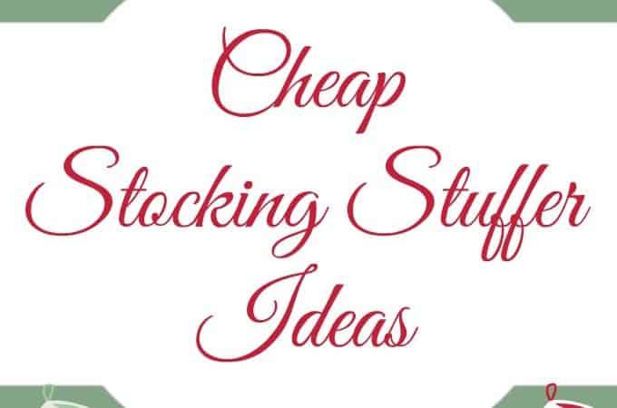 25 Cheap Stocking Stuffer Ideas