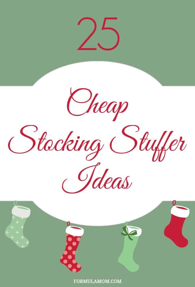 25 Cheap Stocking Stuffer Ideas for Christmas #Christmas