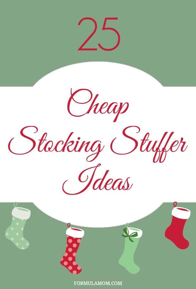 25 Cheap Stocking Stuffer Ideas for Christmas #Christmas