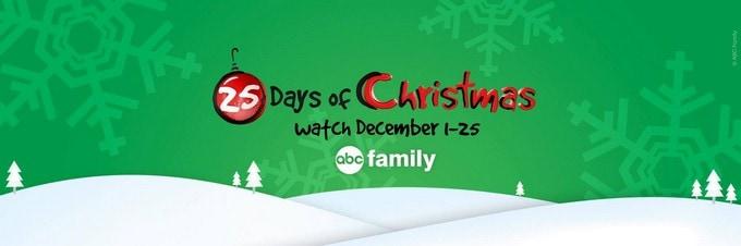 ABC Family's 25 Days of Christmas #25DaysofChristmas