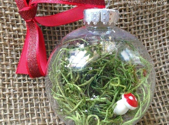 12 Days of DIY Christmas Ornaments Fairy Garden Ornament