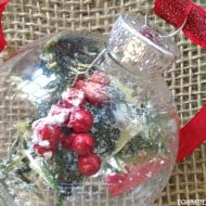 12 Days of DIY Christmas Ornaments: Frosty Pine Ornament