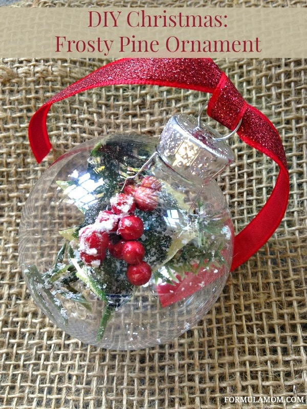 12 Days Of Diy Christmas Ornaments Frosty Pine Ornament