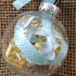 12 Days of DIY Christmas Ornaments: Scrap Ribbon Ornament