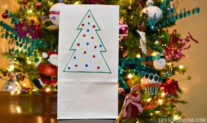 Indoor DIY Luminaries for Christmas #Christmas #DIY #crafts