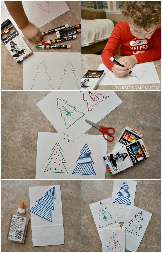 How to Make DIY Luminaries for Christmas #Christmas #DIY #crafts