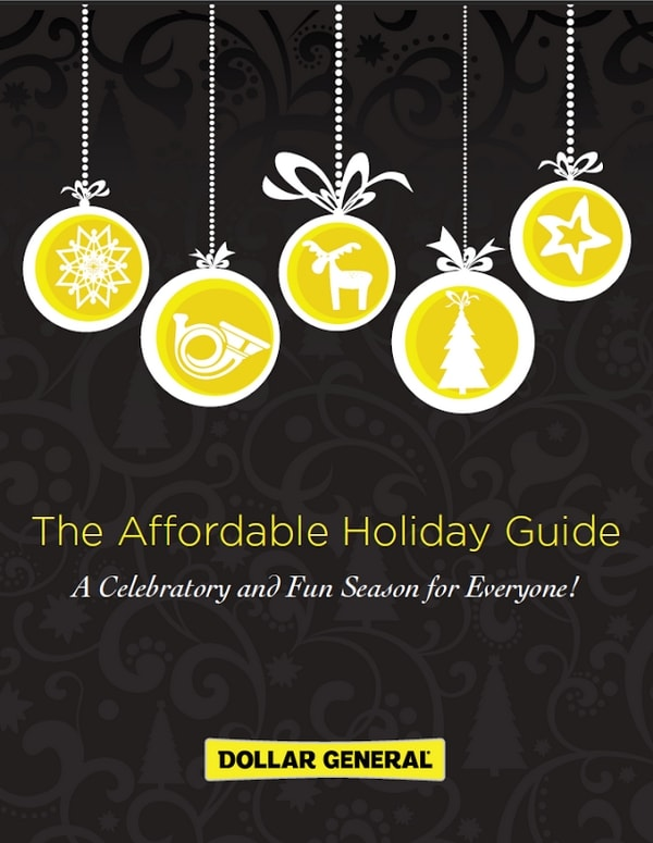 Dollar General's Affordable Holiday Guide #DGHoliday