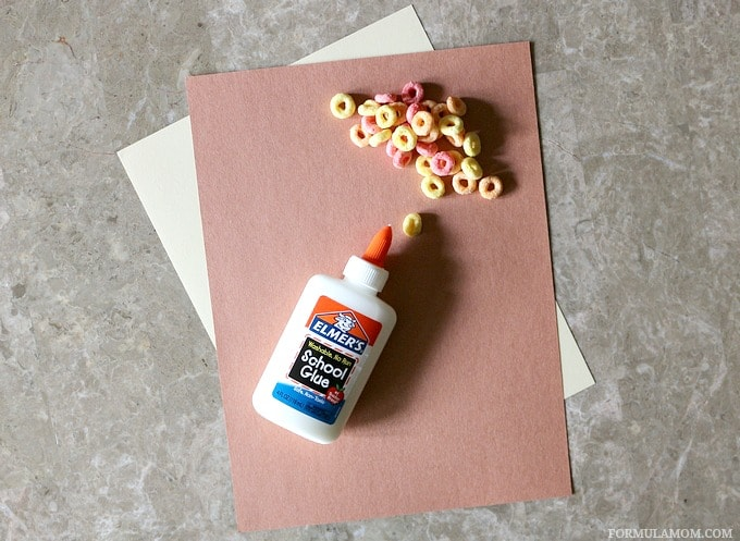 What You Need to Make Fruit Loop Indian Corn Craft for Kids #Thanksgiving