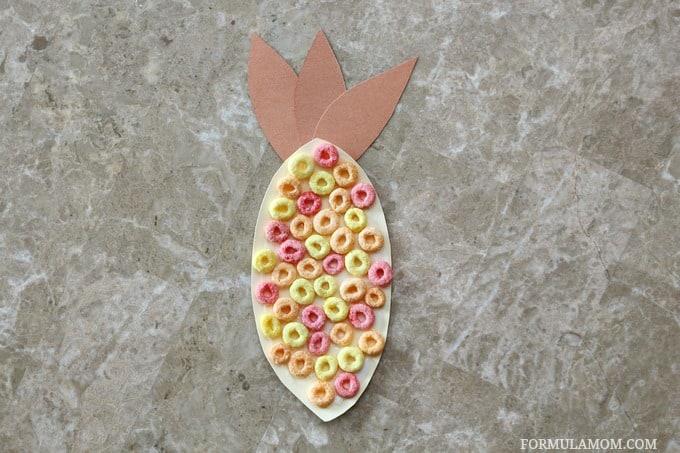 Fruit Loop Indian Corn Craft for Kids #Thanksgiving