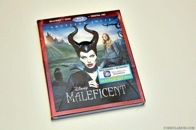 Maleficent on DVD Blu-Ray