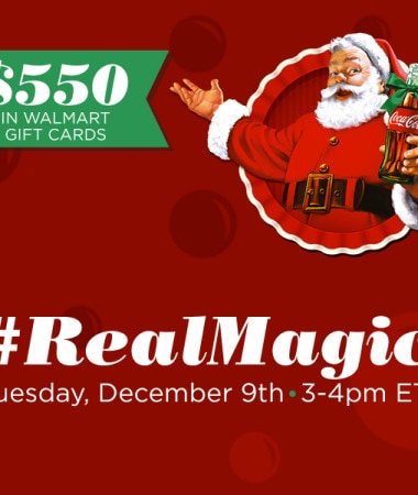 #RealMagic Twitter Party 12/9 3pm ET #TwitterParty #cbias #ad