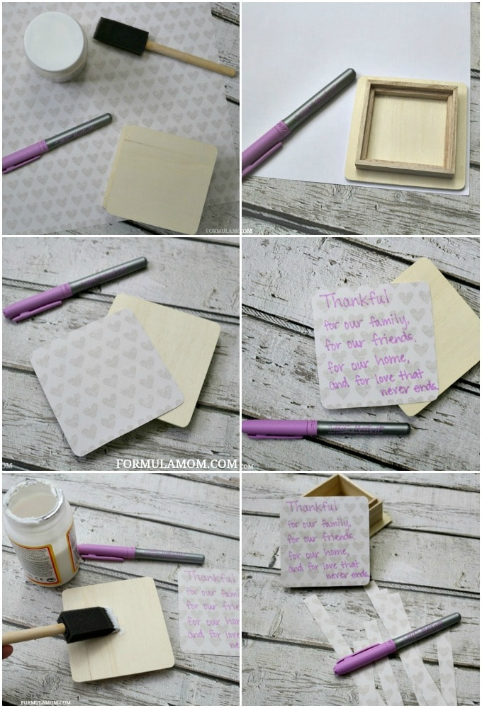 Thanksgiving Crafts for Families: How to Make a Thankful Box