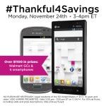 RSVP for #Thankful4Savings Twitter Party
