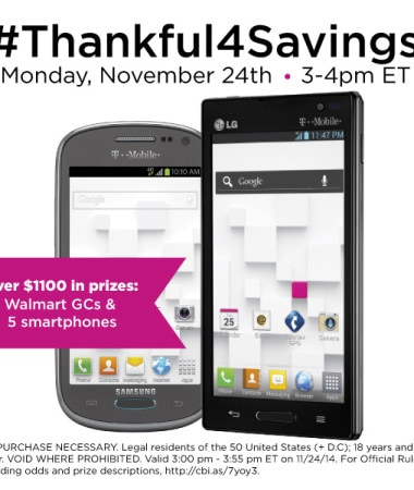 #ThankfulForSavings Twitter Party 11/24 at 3pm #TwitterParty #Cbias #ad