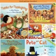 14 Thanksgiving Books for Preschoolers