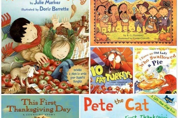 14 Thanksgiving Books for Preschoolers