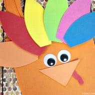 Thanksgiving Crafts for Kids: Turkey Treat Bag
