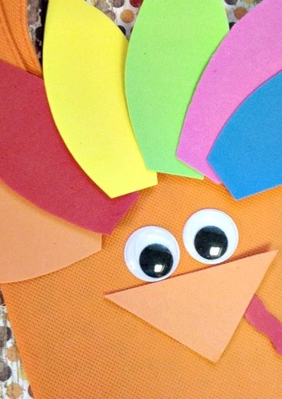 Thanksgiving Crafts for Kids: Turkey Treat Bag
