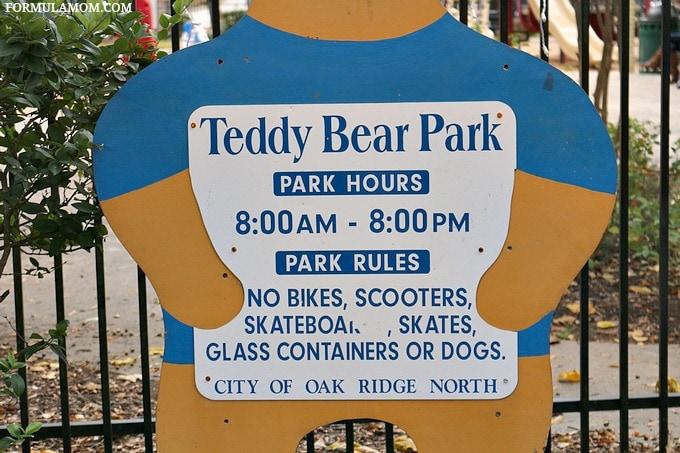 The Woodlands Parks: Teddy Bear Park
