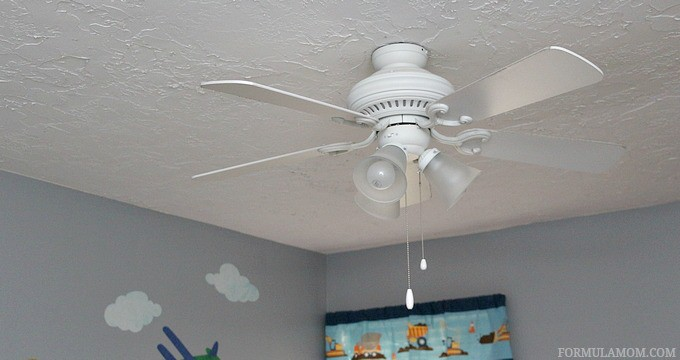 Ways to Prepare Your Home for Winter: Reverse the Ceiling Fans #HealthierHome