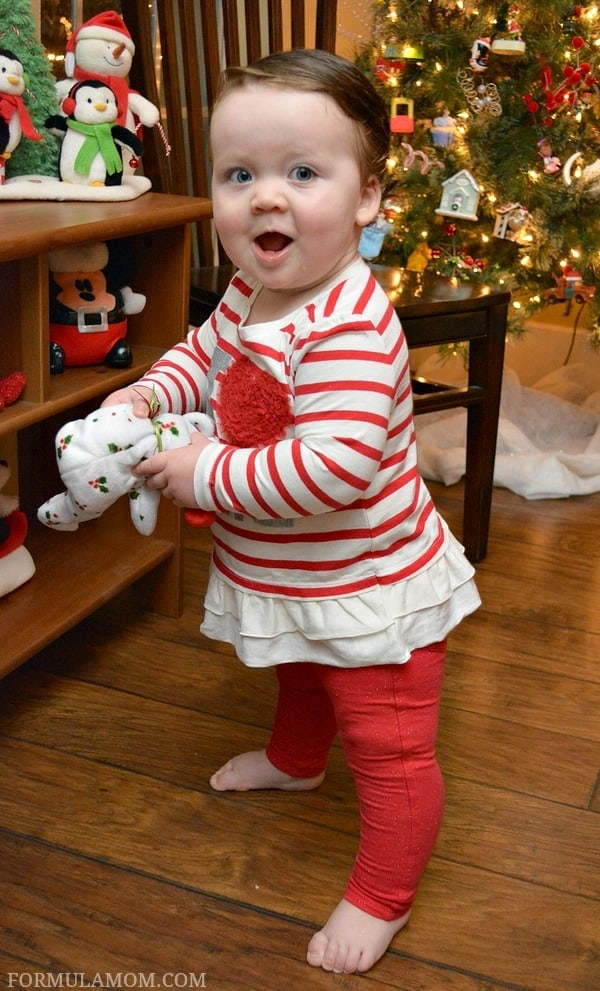 Tis the season to score some awesome deals at The Children's Place, get her ready with new favorites from the Toddler & Baby girl holiday clothing collection.