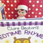 Easy Elf on the Shelf Ideas: Bedtime Story #ElfontheShelf