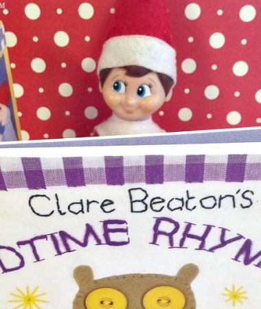 Easy Elf on the Shelf Ideas: Bedtime Story #ElfontheShelf