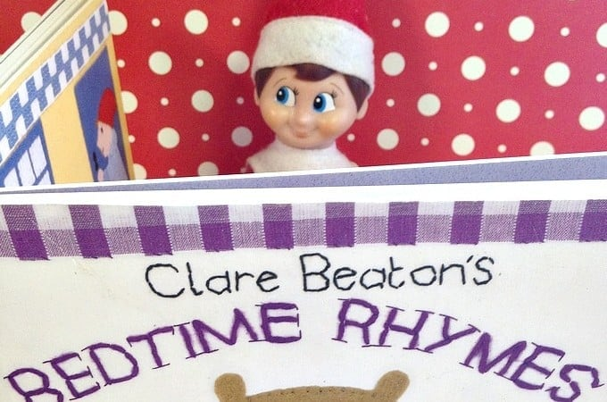 Easy Elf on the Shelf Ideas: Bedtime Story