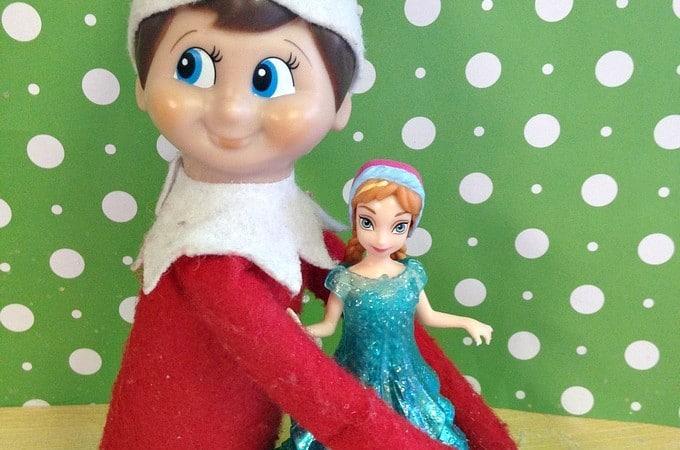 Easy Elf on the Shelf Ideas: Elf Hugs