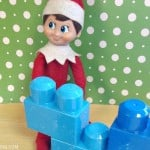 Easy Elf on the Shelf Ideas: Block Party