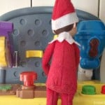 Easy Elf on the Shelf Ideas: Working Overtime
