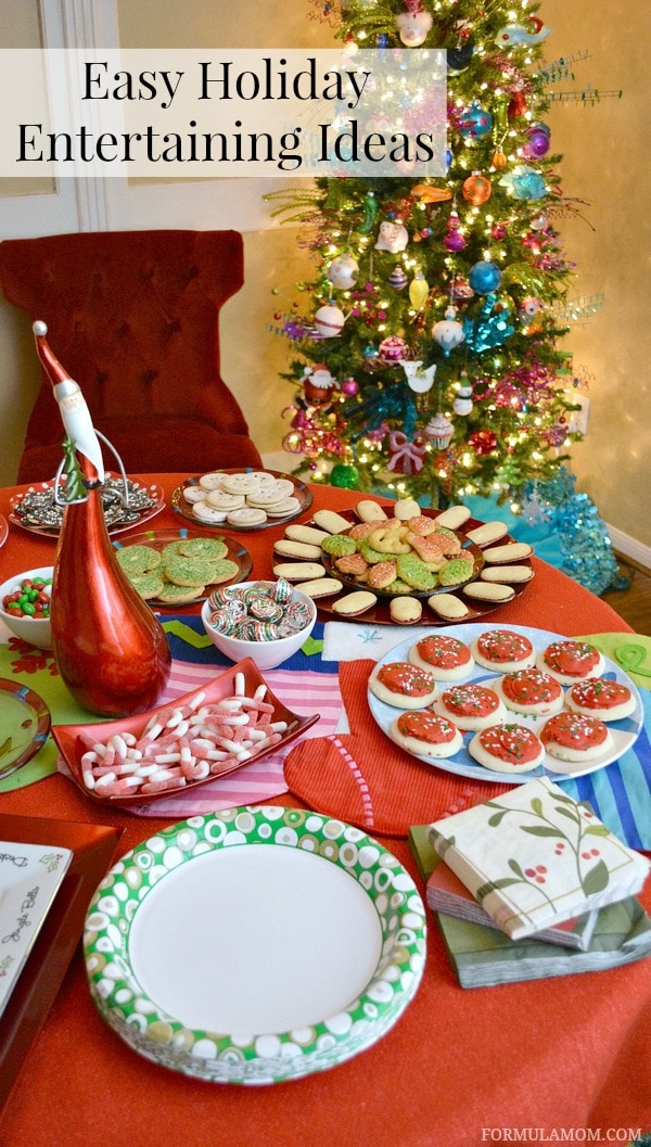 Easy Holiday Entertaining Ideas