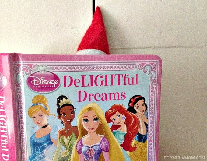 Elf on the Shelf Ideas: Princess Book for Toddlers #ElfontheShelf