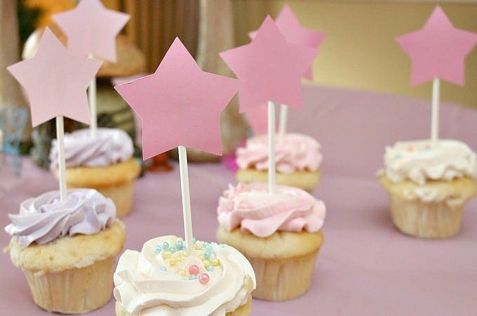 Fairy Birthday Magic Wand Cupcake Toppers (Cricut Birthday Party Ideas)