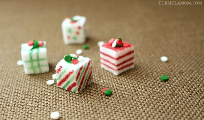 Homemade Christmas Crafts: Sugar Cube Presents