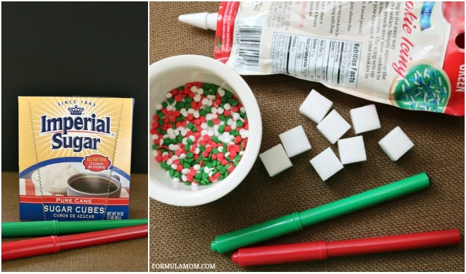 Homemade Christmas Crafts: What You Need to Make Sugar Cube Presents
