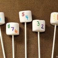 Kid Friendly New Years Eve Idea: Countdown Marshmallow Pops