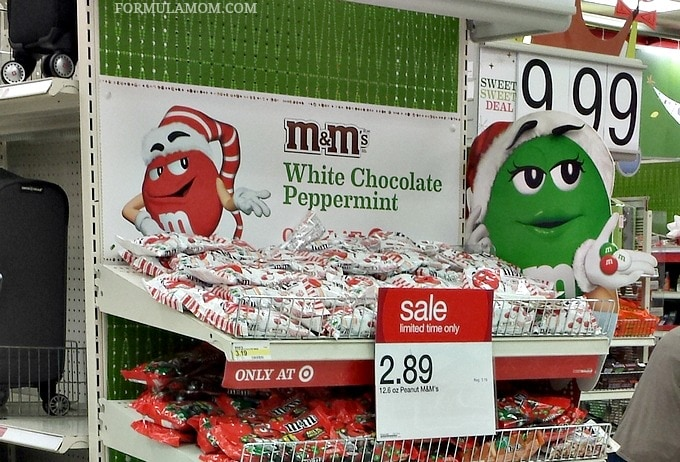 M&M'S® White Chocolate Peppermint (only at Target) #HolidayBaking #ad