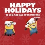 Have a Merry Minions Christmas with Fandango