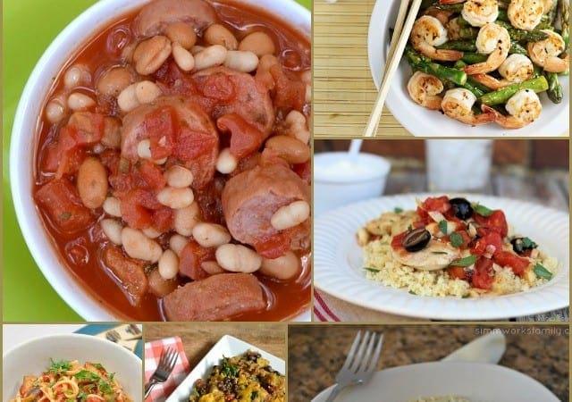 15 Healthy & Quick Dinner Ideas (Under 30 Minutes!)