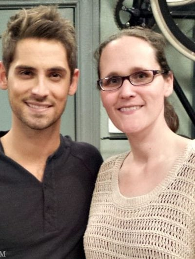 On the set of ABC Family Baby Daddy #ABCFamilyEvent #BabyDaddy