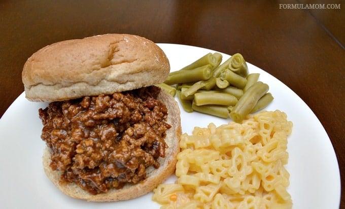 Easy Dinner Ideas: Sloppy Joes
