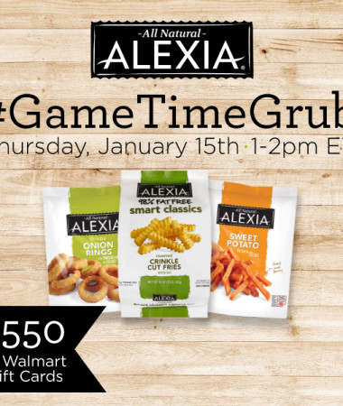 #GameTimeGrub Twitter Party Thursday 1/15 #ad #TwitterParty #cbias
