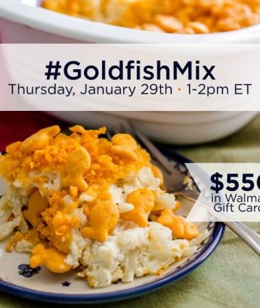 #GoldfishMix Twitter Party 1/29 1pm ET #ad #cbias #TwitterParty