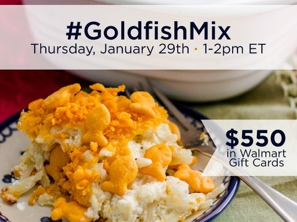 RSVP for the #GoldfishMix Twitter Party