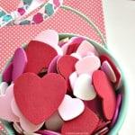 Kid Friendly Valentine Crafts: Bucket of Kisses